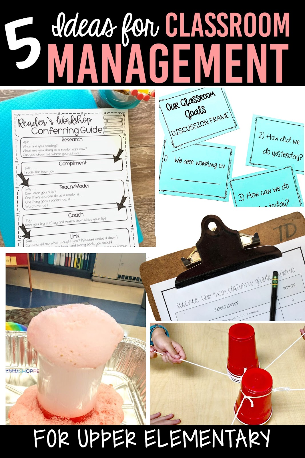 5 ideas for classroom management