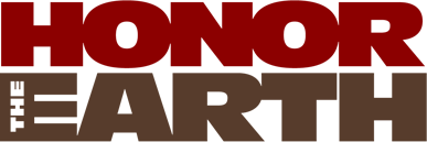 honor the earth logo simple redblack.png
