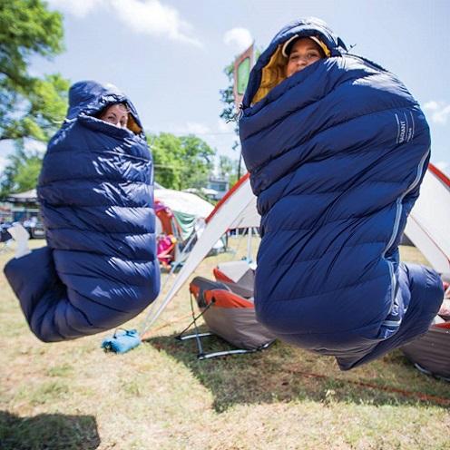 túi ngủ mùa đông chống nước naturehike