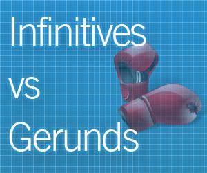 cara membedakan infinitives dan gerunds