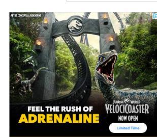 Jurassic World Ad Creative