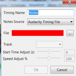 Timing Tracks - xLights Manual