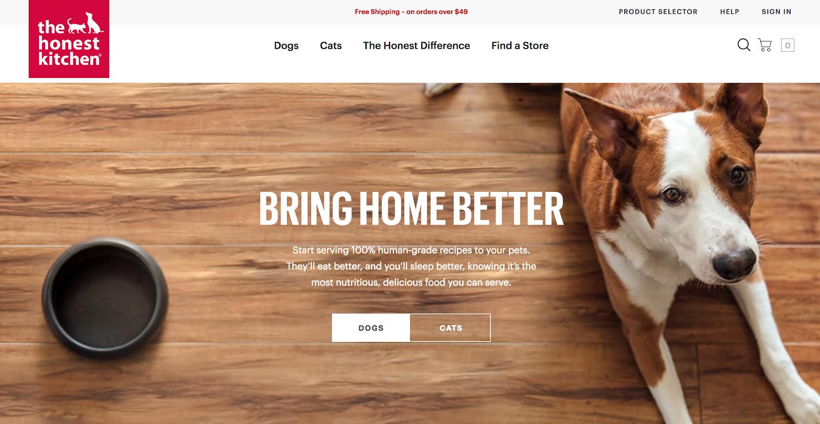 Pet Brands - the Honest Kitchen