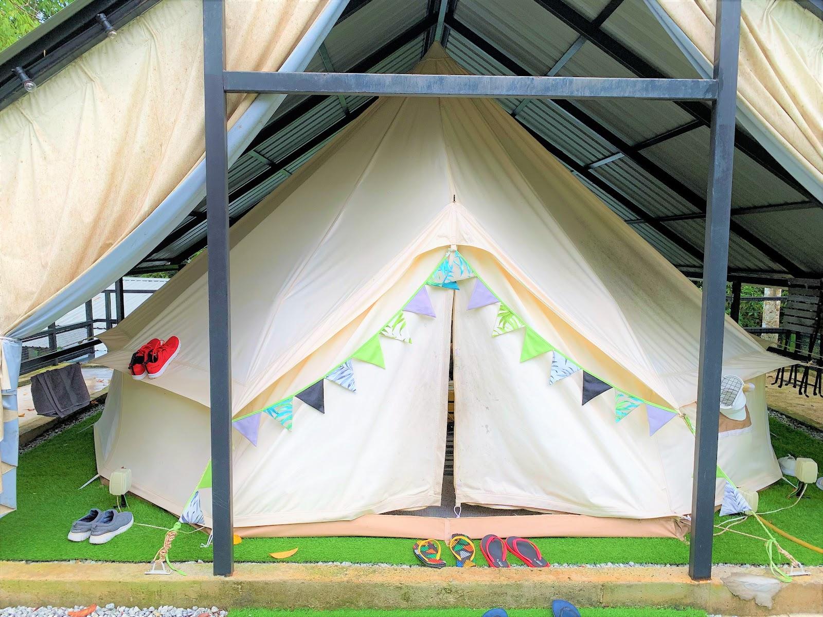 マレーシアで気軽にキャンプ体験ができる「DUSUN BONDA」