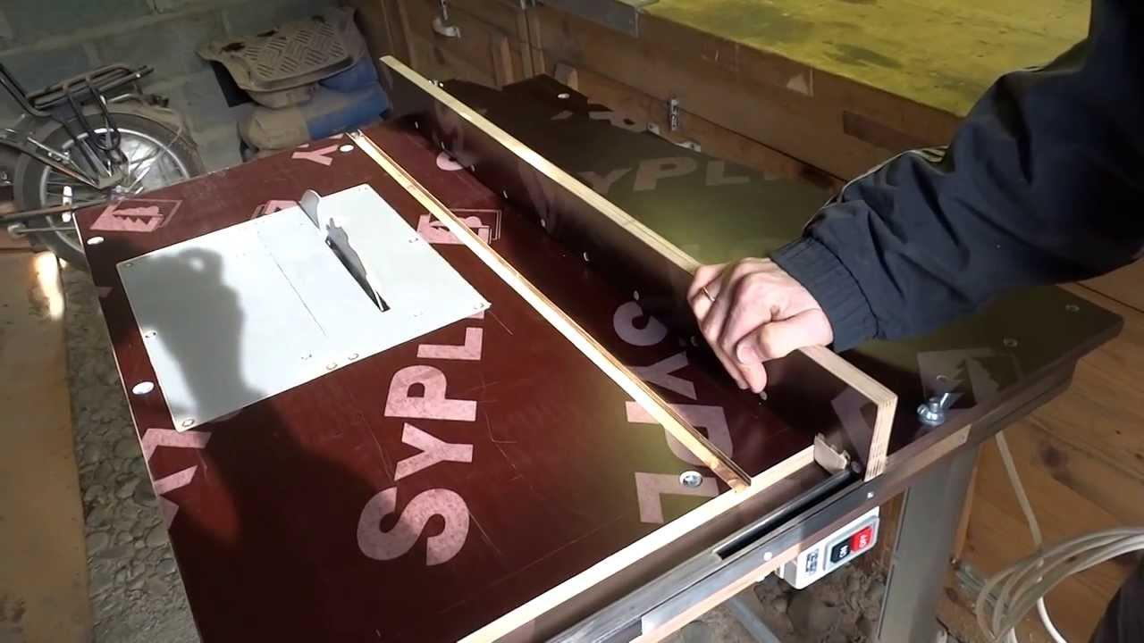 Материалы для изготовления стола