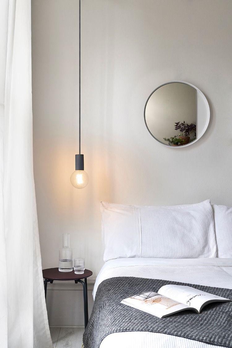 Simple Pendant Lamps Bedroom Ideas