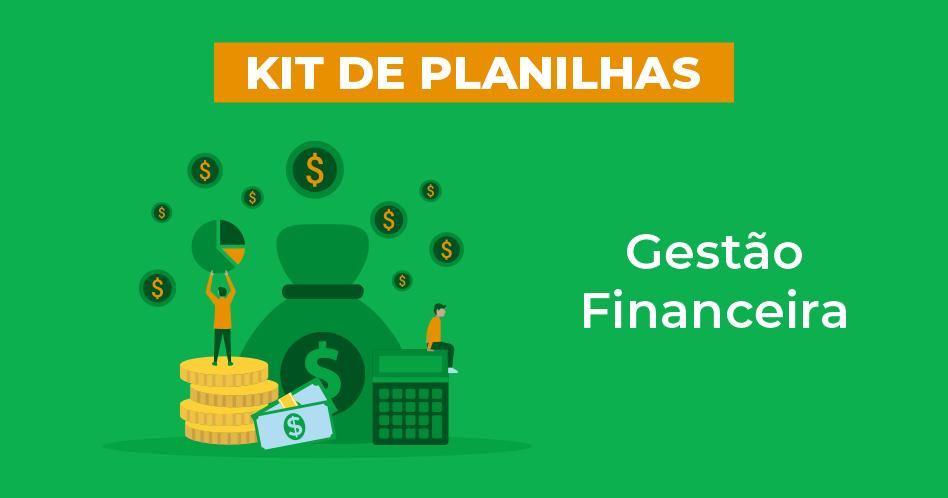 bannner do kit de planilhas gestão financeira