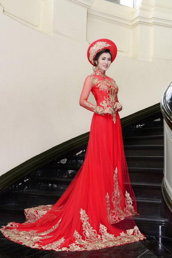 Tìm mẫu áo dài cưới đẹp nhất là điều mà cô dâu nào cũng nghĩ đến