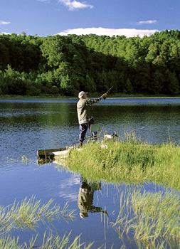 famous for its trout fishing at Nyanga