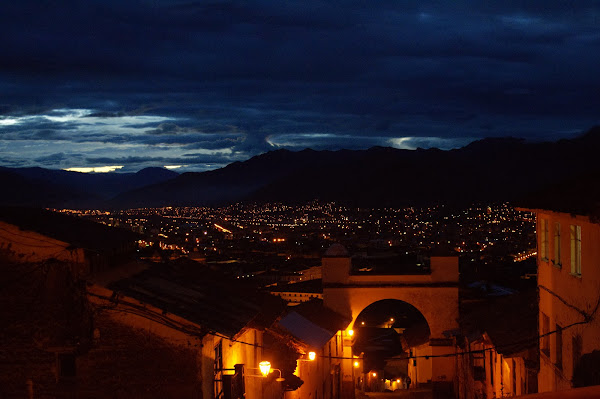 early morning start in Cusco