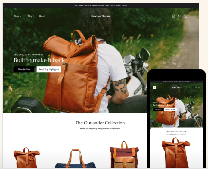 Modular - Shopify clothing themes