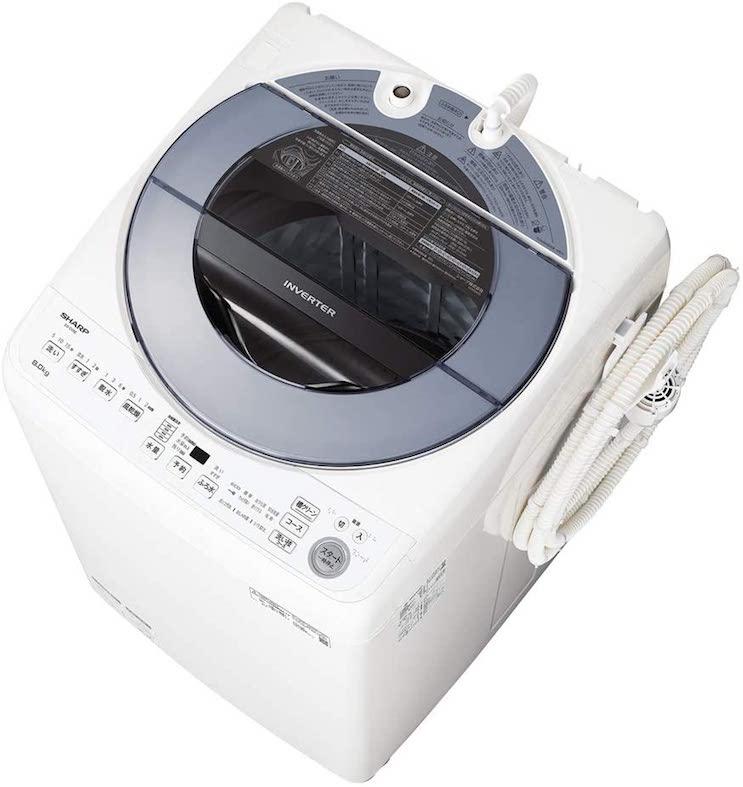 シャープ 洗濯機 穴なし槽