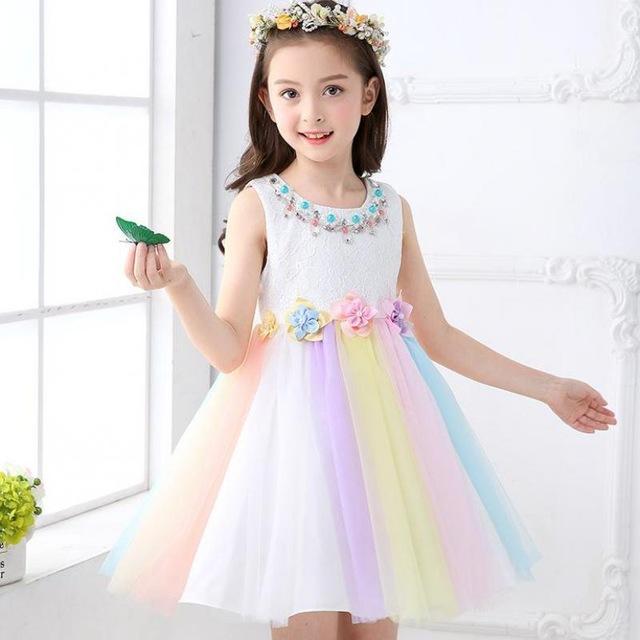 Sukienki dla dziewczynek na imprezę