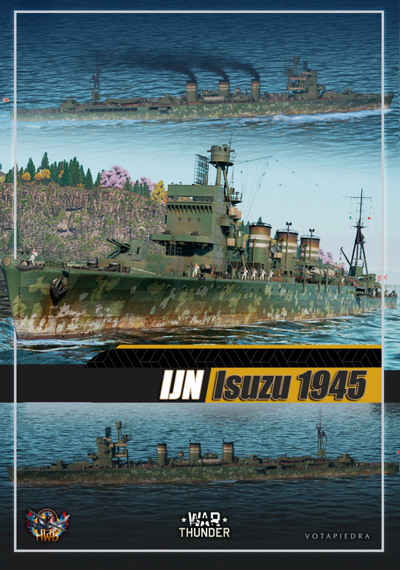 1945 IJN Isuzu War Thunder