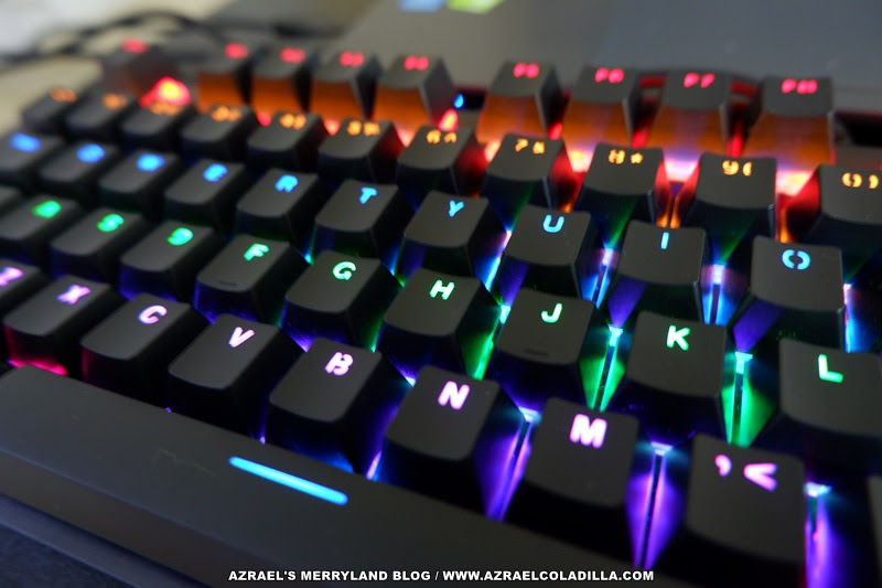 VPRO Gaming mouse and mechanical keyboard from Rapoo