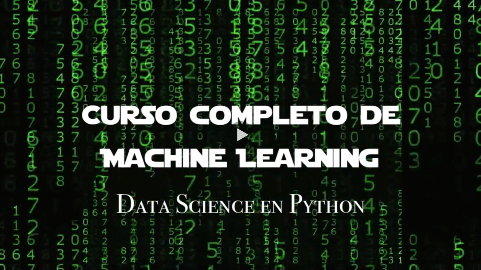 Machine Learning python