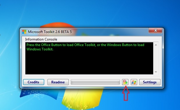 Active office bằng Microsoft Toolkit