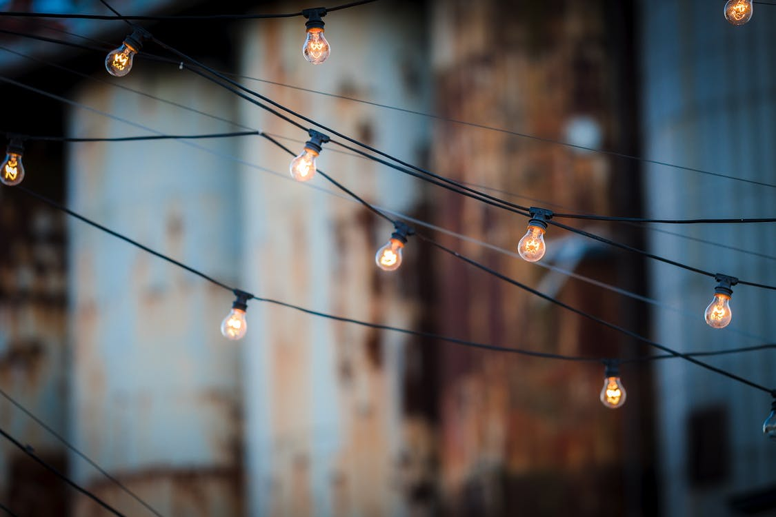 String Lights, Outdoor Patio Ideas