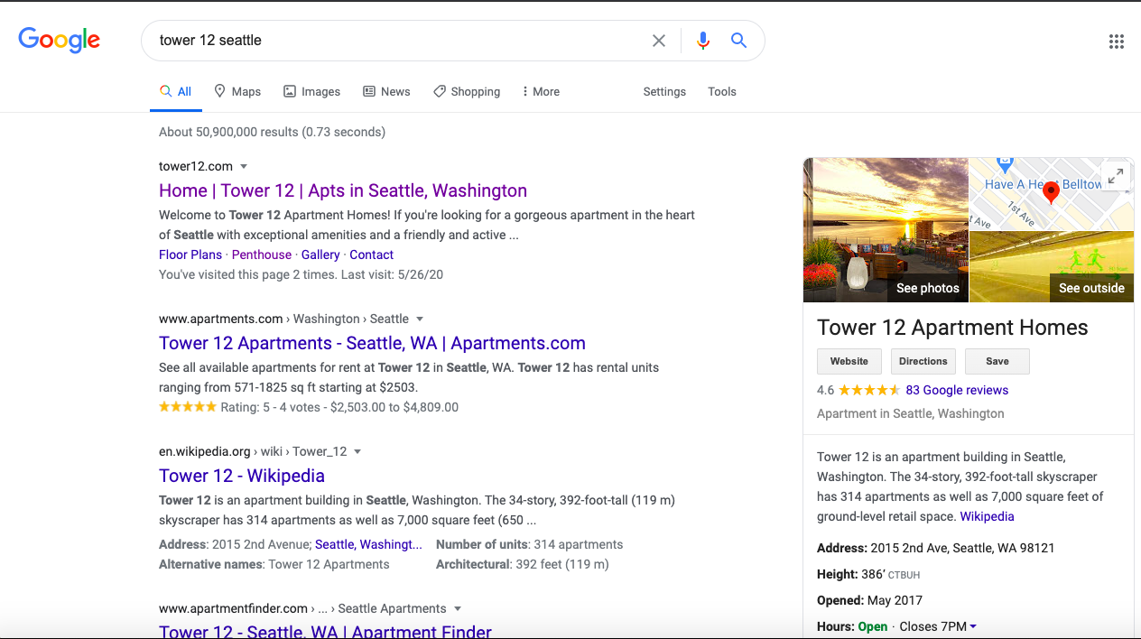 7 Quick Ways to Boost Apartment Local SEO | REPLI | Google My Business Search Appearance