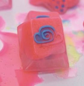 Amidst The Clouds - Neon Valentine - Pink Cloud Cap