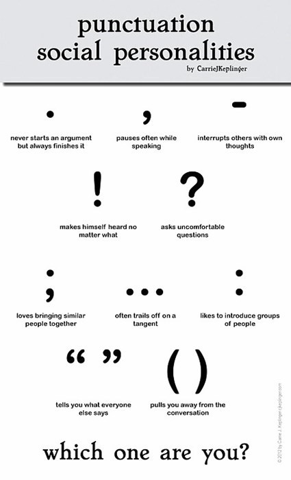 Punctuation & Poetry - The Watershed Journal