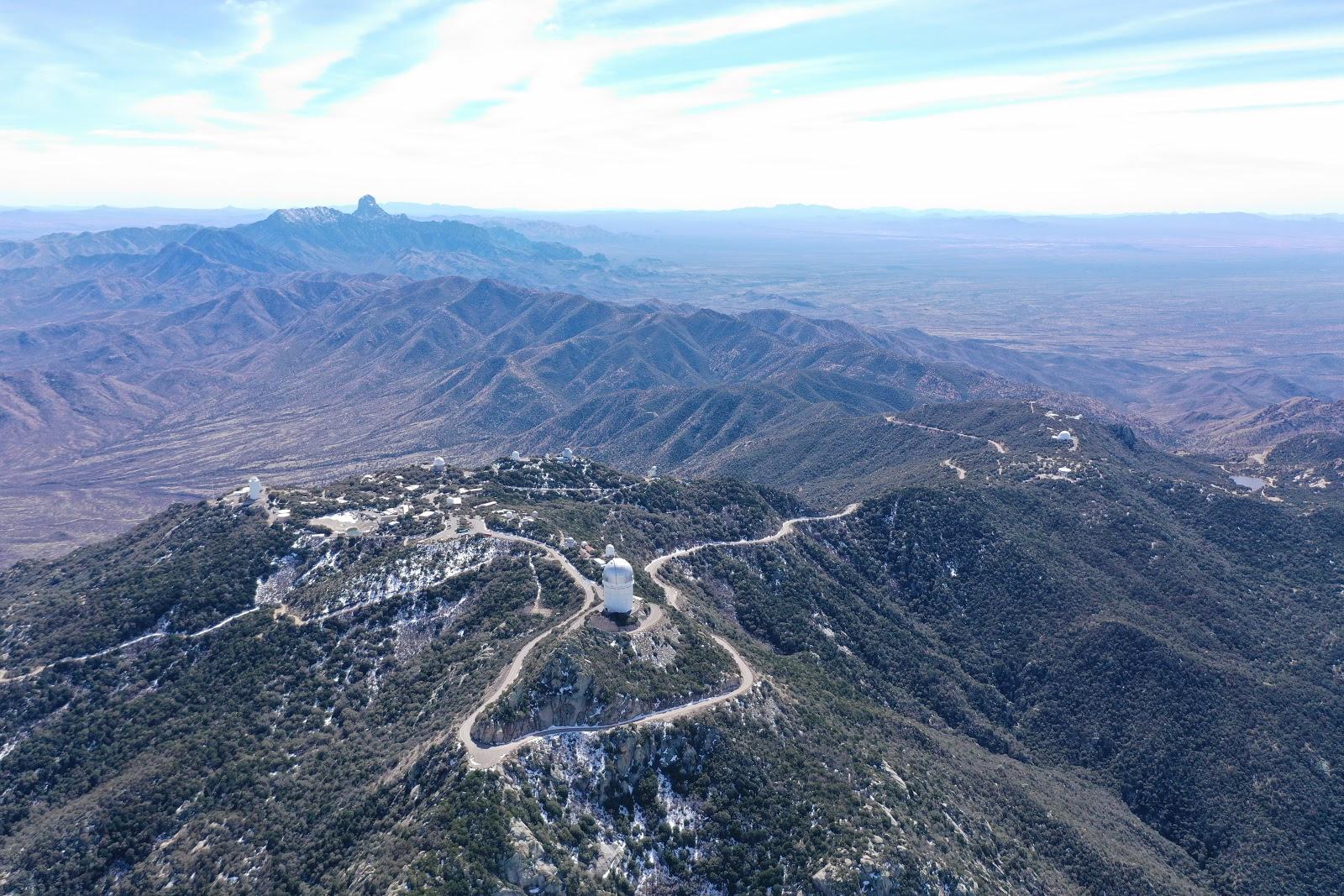 Cycling Kitt Peak, Tucson, AZ - one of Arizona's top road bike climbs.