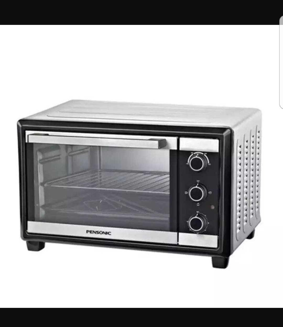 This is a 23-L oven and is a great budget oven: shopjourney