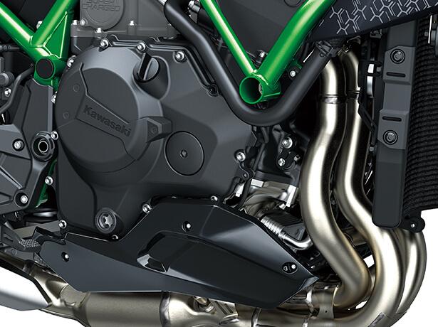 Kawasaki Z-H2 2020 สุดยอดรถจักรยานยนต์ไฮเปอร์ไบค์6