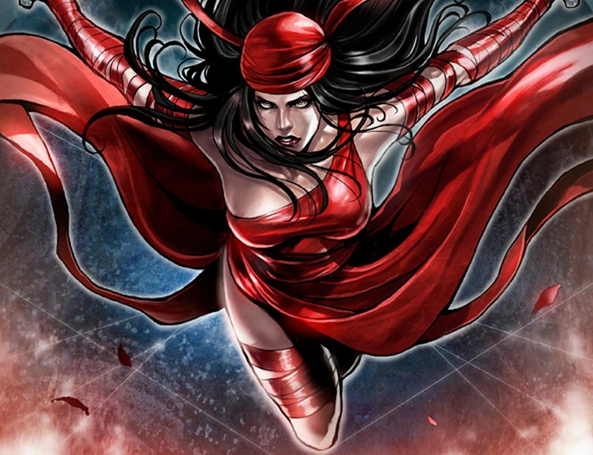The deadly and mysterious ninja - Elektra