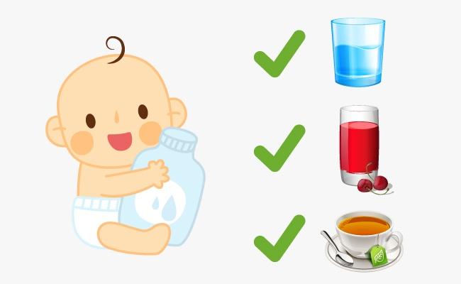 Chăm sóc sức khỏe trẻ sơ sinh ngày hè.