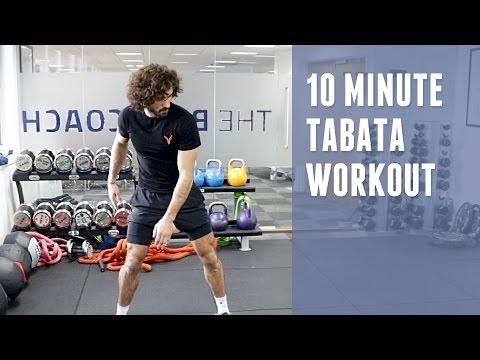 10 Minute Intense Tabata-style Workout | The Body Coach