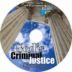 God's Criminal Justice System MP3 CD