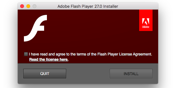 How to update Adobe Flash Player for Mac