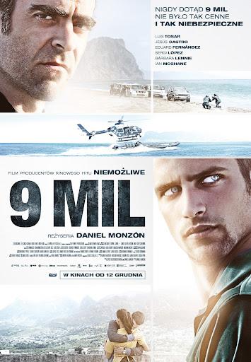 Polski plakat filmu '9 Mil'
