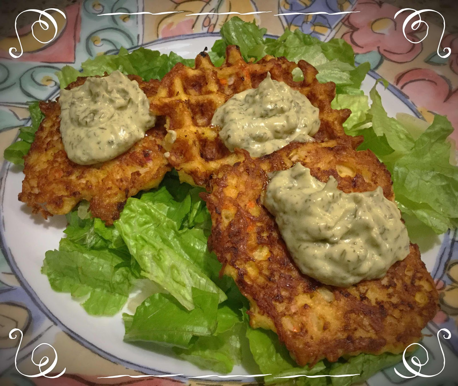 Low Carb Crab Cakes with Aioli