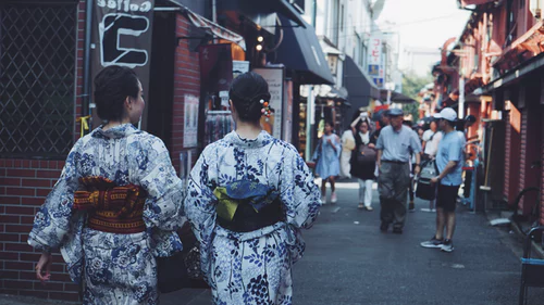 kimono vs yukata