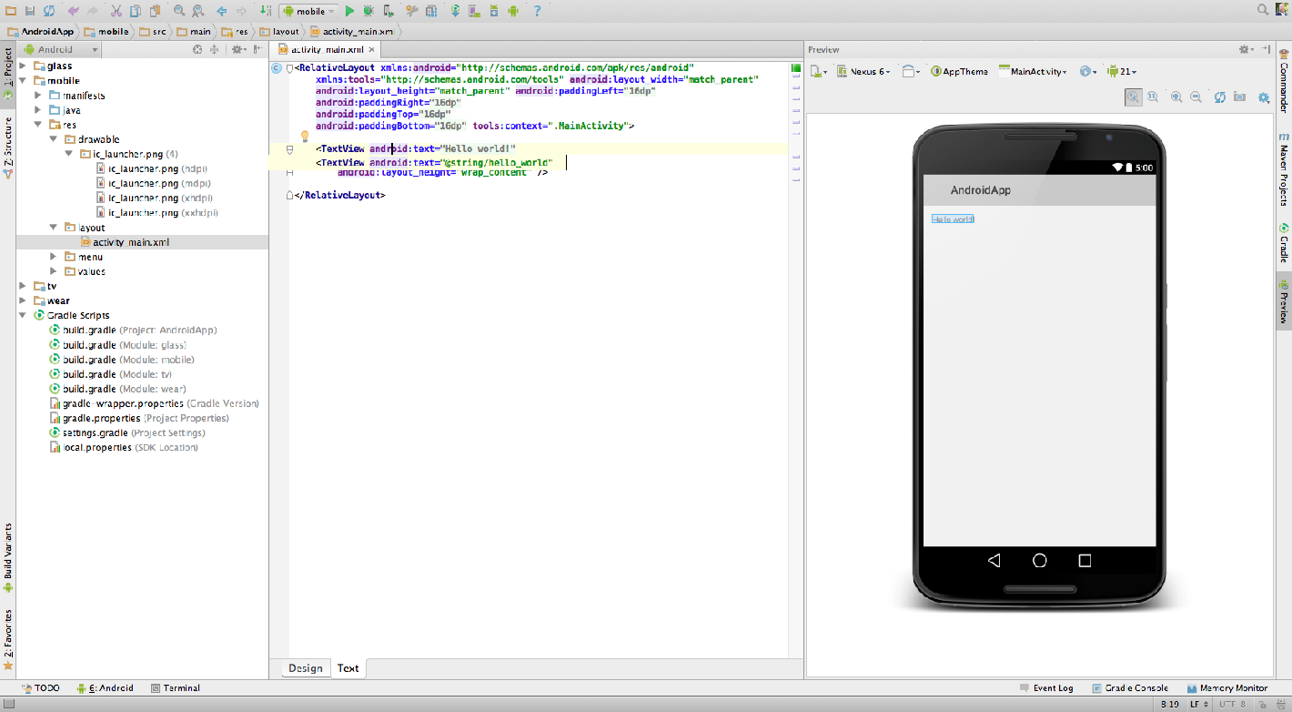 http://developer.android.com/images/tools/studio-helloworld-text.png
