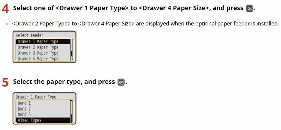 Types Of Paper Sizes