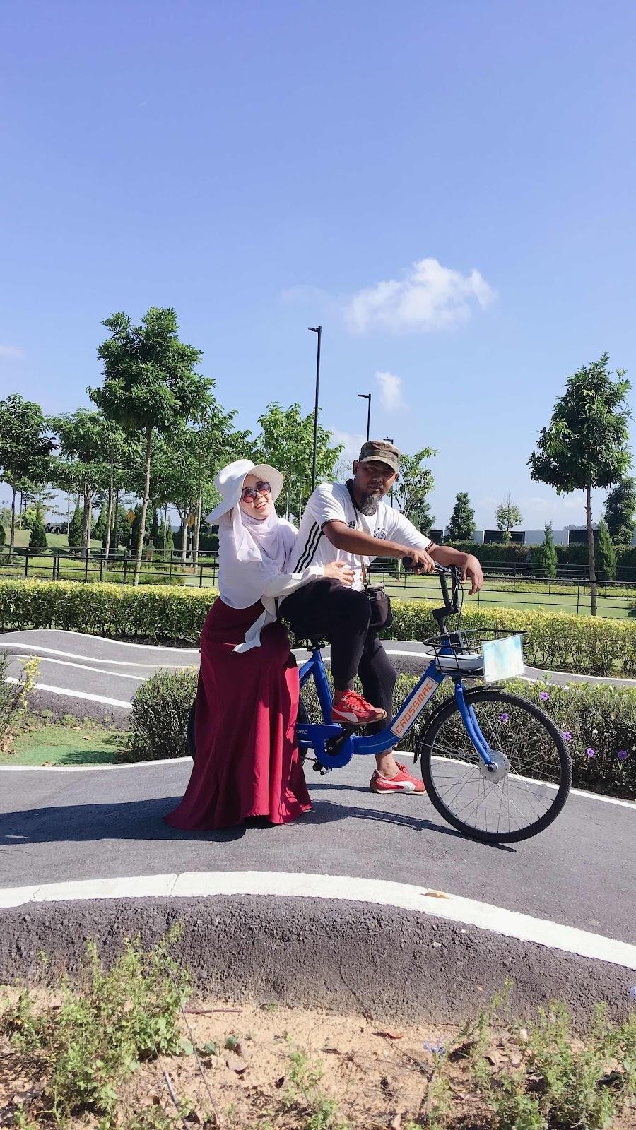 DGB Bike City Eco Grandeur Puncak Alam Premium Beautiful Therapants Theravest Harga Murah