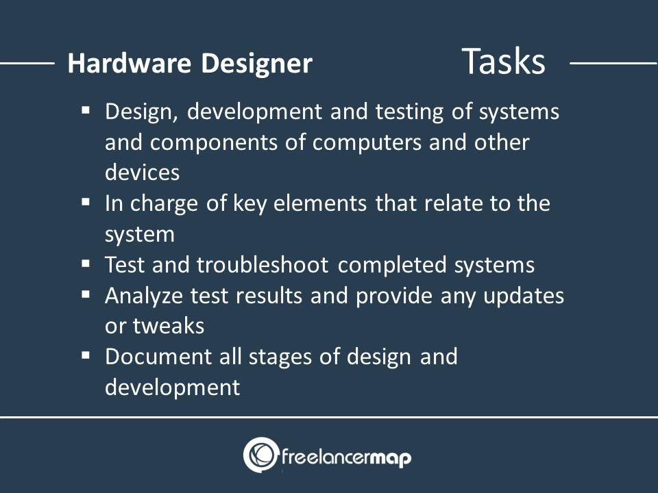 Roles and Responsibilties of a Hardware Designer