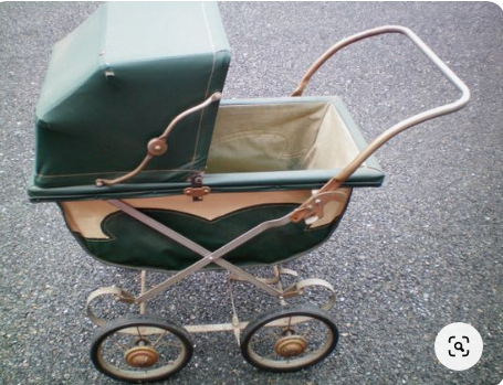 Antique Baby Stroller of the 1900s