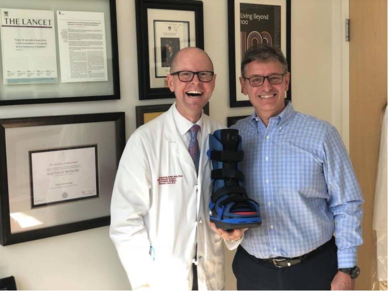IoT footwear in healthcare.