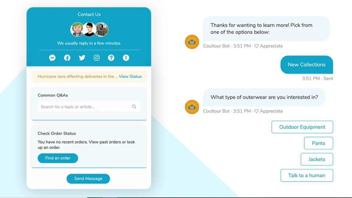 outstanding Shopify live chat app in the market