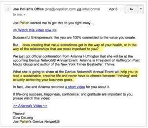 Aumentar la tasa de clics de correo electrónico