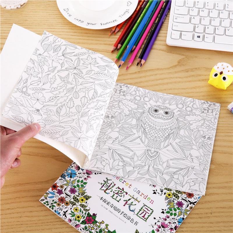 Secret Garden Mini Coloring Book