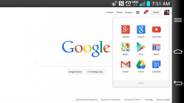 Google Rolling Out Flatter Homepage