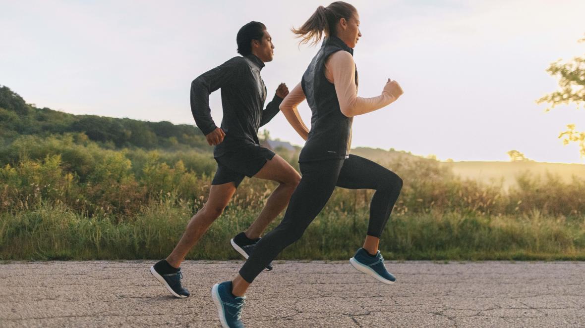Chạy là một bài tập tốt để rèn luyện thể chất