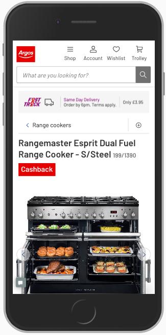 zdjęcia na mobilnej karcie produktu