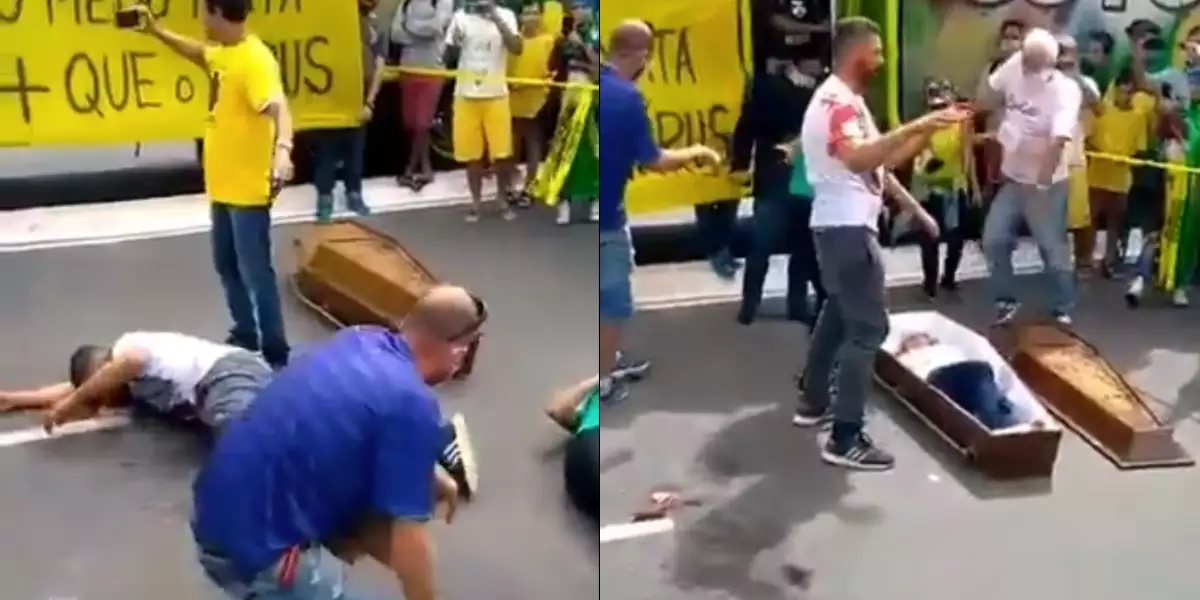 manifestações pró-Bolsonaro