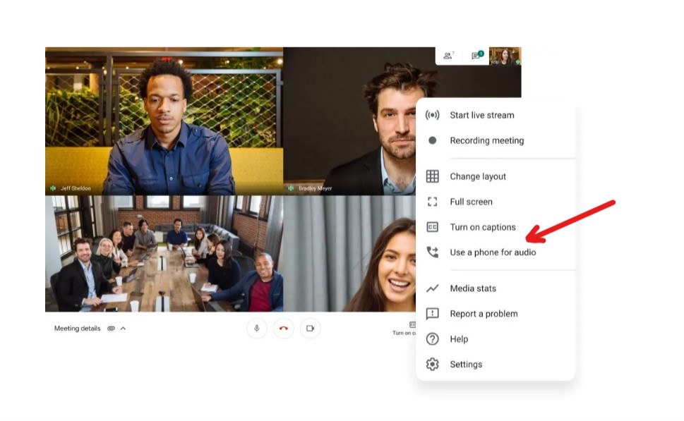 google meet tips and tricks to join the meeting via phone call and connect with the teammates with ease